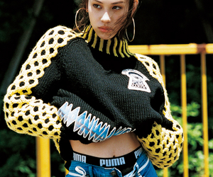 fashion, puma, and kiko mizuhara image