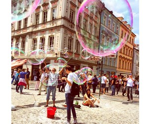 colour, people, and bubble image