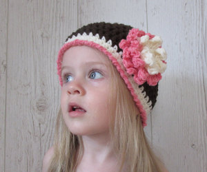 beanie, hat, and toddler image