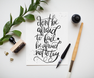 quote, try, and fashion image