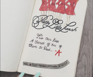 pretty little liars, pll, and wreck this journal image