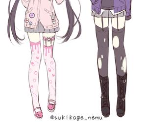 alice, anime girl, and fashion image