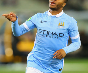 sterling, manchester city, and raheem sterling image