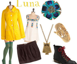 clothes, luna lovegood, and style image