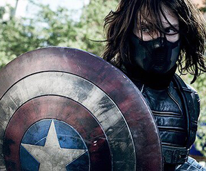 captain america, Marvel, and bucky image