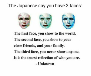 face, quote, and true image