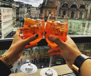 drink, cheers, and luxury image
