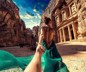 dress, travel, and jordan image