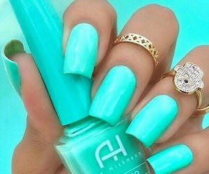 beautiful, nails, and tiffany image