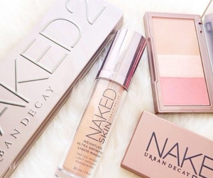 beauty, naked, and cosmetics image