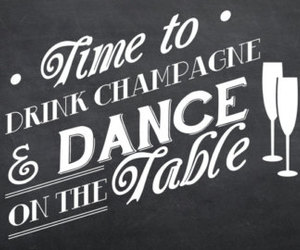 champagne, dance, and party image
