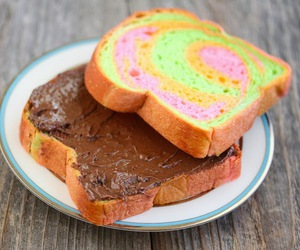 chocolate, food, and toast image