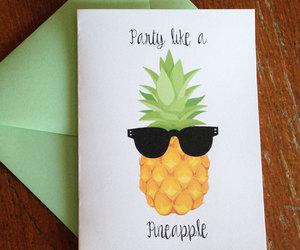 cool, pineapple, and creative image