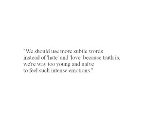 emotions, hate, and truth image