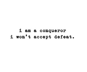 conqueror, fight, and life image