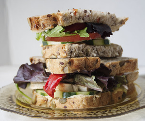 food, sandwich, and summer image