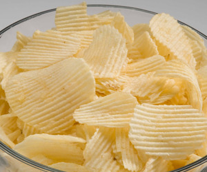 food, chips, and snack image