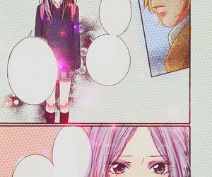 anime, anime girl, and colored image