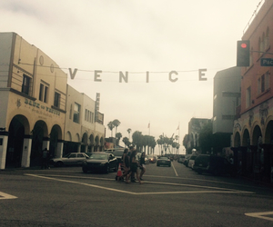 sign, summer, and venice image