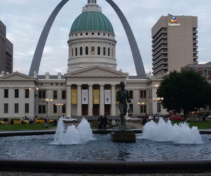 america, St. Louis, and arch image