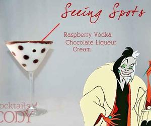 cocktail, disney, and 101 dalmatians image
