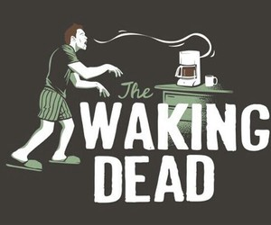 coffee, dead, and funny image