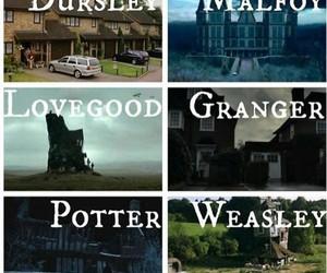harry potter, granger, and dursley image