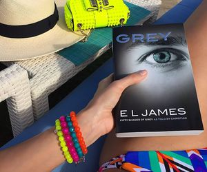 book, girly, and fifty shades of grey image