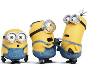 minions, bob, and stuart image