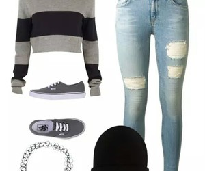 vans and outfit image