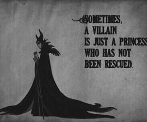 princess, disney, and villain image