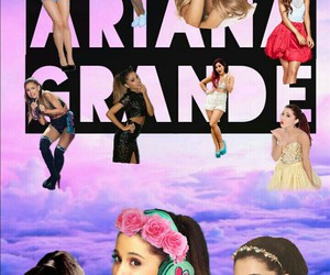 Collage, music, and ariana image