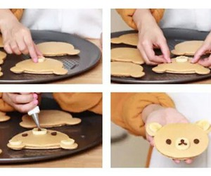 cook, hot cakes, and kawaii image