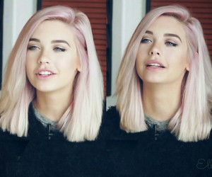Beauty, Pink Hair, And Silver Hair Image