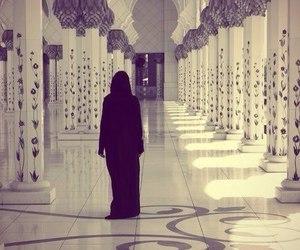 muslim, mosque, and hijab image