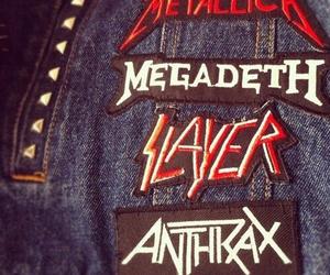 megadeth, slayer, and metallica image