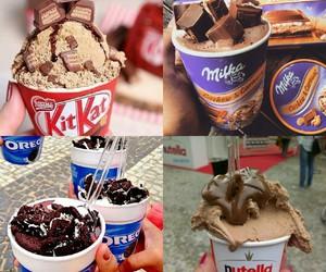 chocolate, nutella, and oreo image