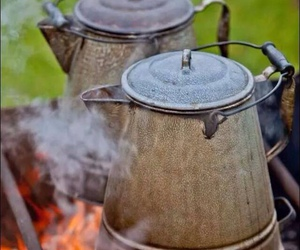 country life and campfire coffee image