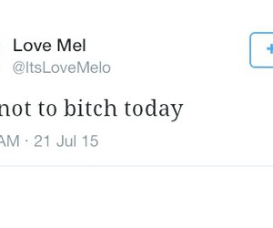 quote, tweet, and love melo image