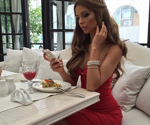 luxury, dress, and hair image