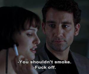 cigarette, closer, and movie image