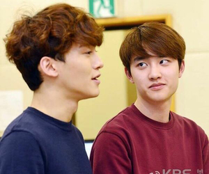 d.o, Chen, and exo image