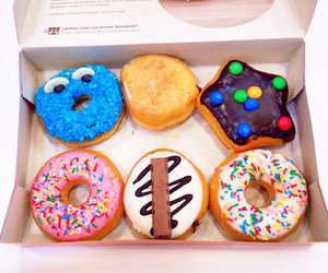 donuts, chocolate, and friends image