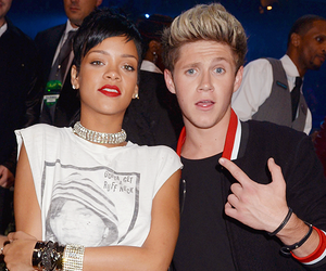 rihanna, niall horan, and one direction image