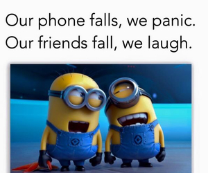 minions, funny, and smile image