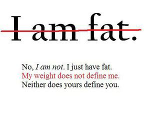 fat and quote image