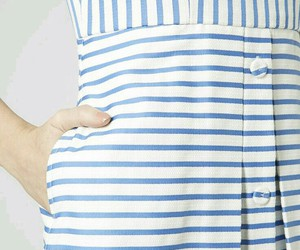 blue, dres, and stripes image