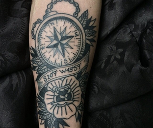 tattoo and wind rose image