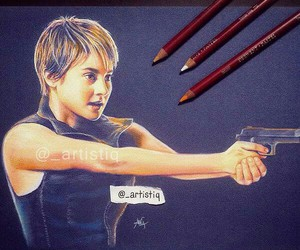 insurgent, divergent, and draw image