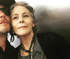 norman reedus, the walking dead, and caryl image